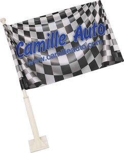 Car Flag - Double Sided