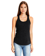 Load image into Gallery viewer, TF Next Level Ladies' Gathered Racerback Tank