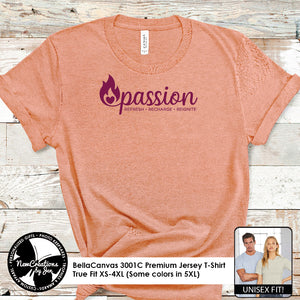 PASSION - BellaCanvas Premium T-Shirt