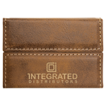 Load image into Gallery viewer, Leatherette Hard Card Case