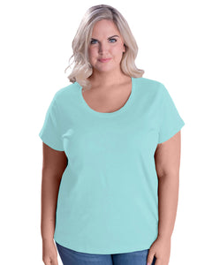 Ladies' Curvy Premium T-Shirt with Custom Artwork