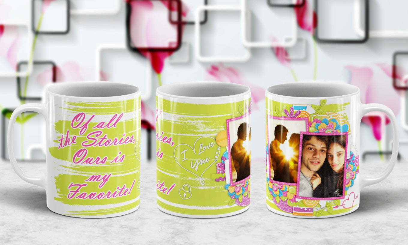 Color Changing Personalized 11oz Mug