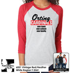 Load image into Gallery viewer, CBBC Unisex Raglan T-Shirt