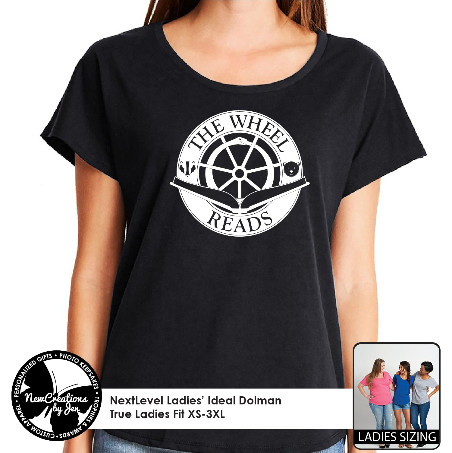 TWR - NextLevel Ladies' Dolman T-Shirt
