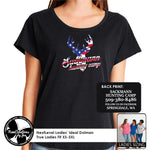 Load image into Gallery viewer, SHC - NextLevel Ladies' Dolman T-Shirt