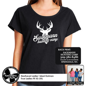 SHC - NextLevel Ladies' Dolman T-Shirt
