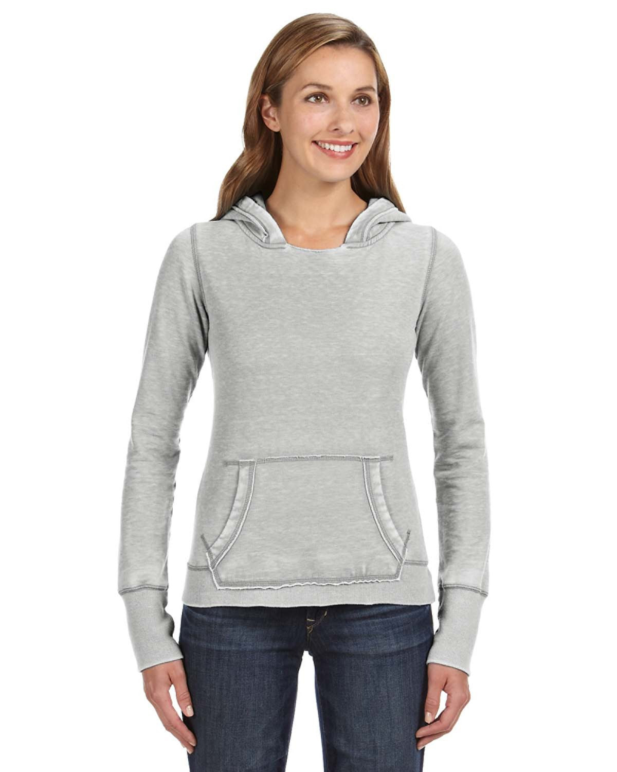 Ladies' Zen Pullover Fleece Hood CUSTOM