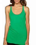Load image into Gallery viewer, Ladies' Triblend Racerback Tank