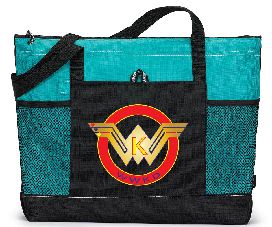 WWKD Large Custom Zippered Bag