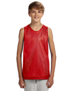 Load image into Gallery viewer, A4 Youth Reversible Mesh Tank