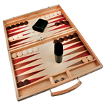 "Load image into Gallery viewer, Backgammon Game - 15"" x 9 1-2"""