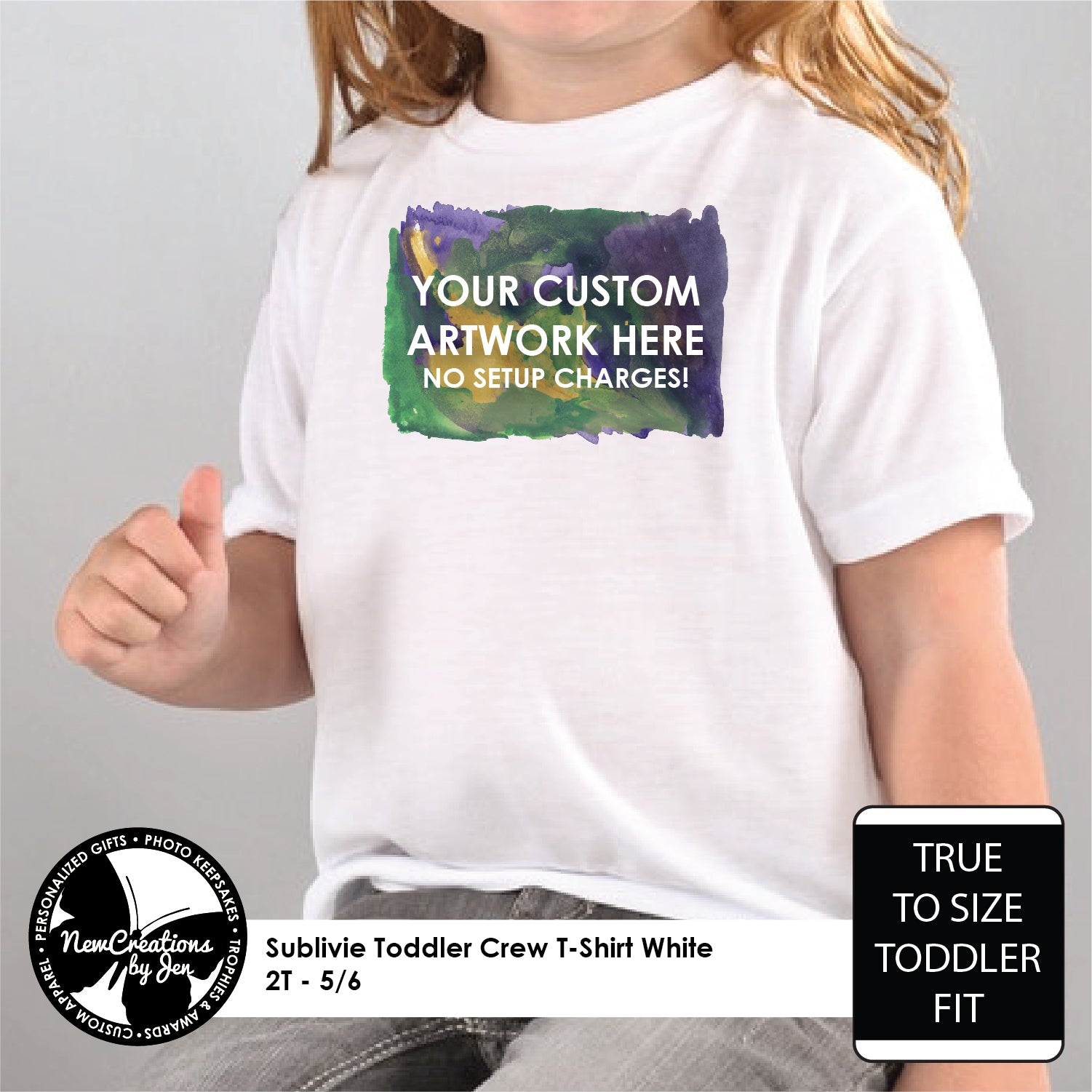 Full Color Tees (Babies & Kids)