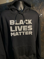 Load image into Gallery viewer, Black Lives Matter Basic Hooded Sweatshirt