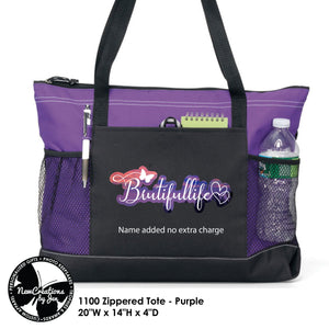 BRUTIFULLIFE Zippered Bag (MY FAVE!)