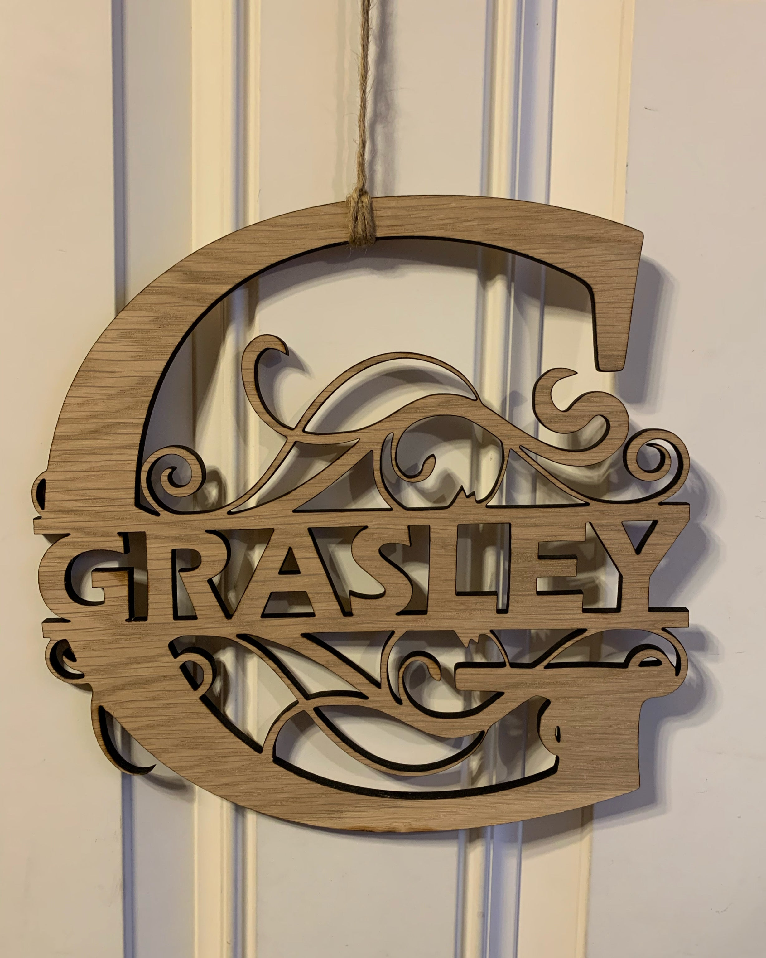Custom Last Name Decorative Signs