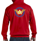 Load image into Gallery viewer, WWKD Full Zip Basic Hoodie