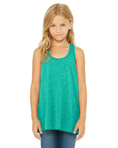 BellaCanvas Youth Flowy Racerback Tank