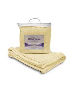 Alpine Fleece Mink Touch Luxury Baby Blanket