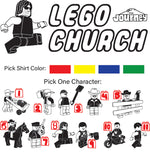 Load image into Gallery viewer, Lego Church T-Shirt