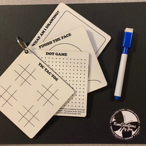 Activity Dry Erase Keyrings