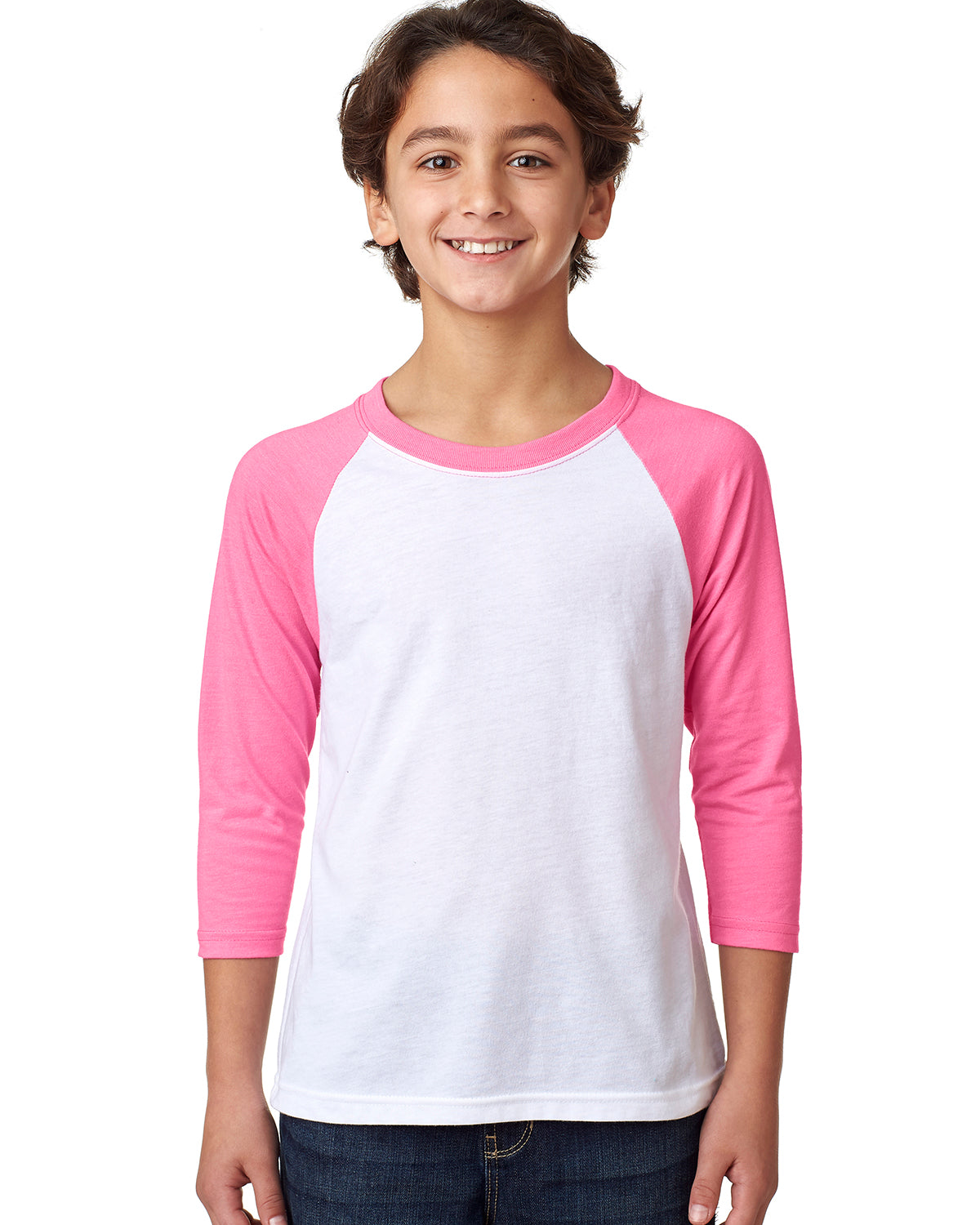 Youth 3/4 Sleeve Raglan Baseball T-Shirt