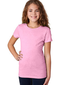 Girl's Princess T-Shirt (Pastel & Neon Colors)