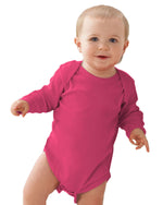 Load image into Gallery viewer, Infant Long-Sleeve Baby Rib Bodysuit
