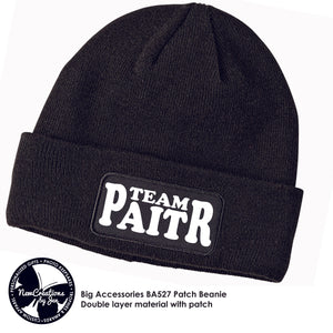 TWR TEAM PAITR - Beanie Cap with Patch Art