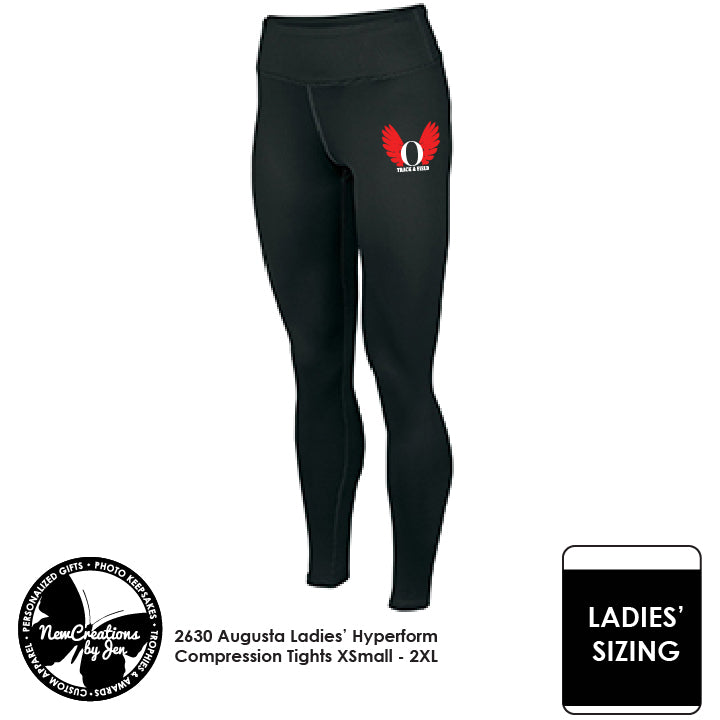 OHSTRACK Augusta Ladies' Hyperform Compression Tights