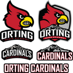 Load image into Gallery viewer, OHS Cardinals Ladies Tees