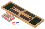 Load image into Gallery viewer, Wood Cribbage Game Gift Set