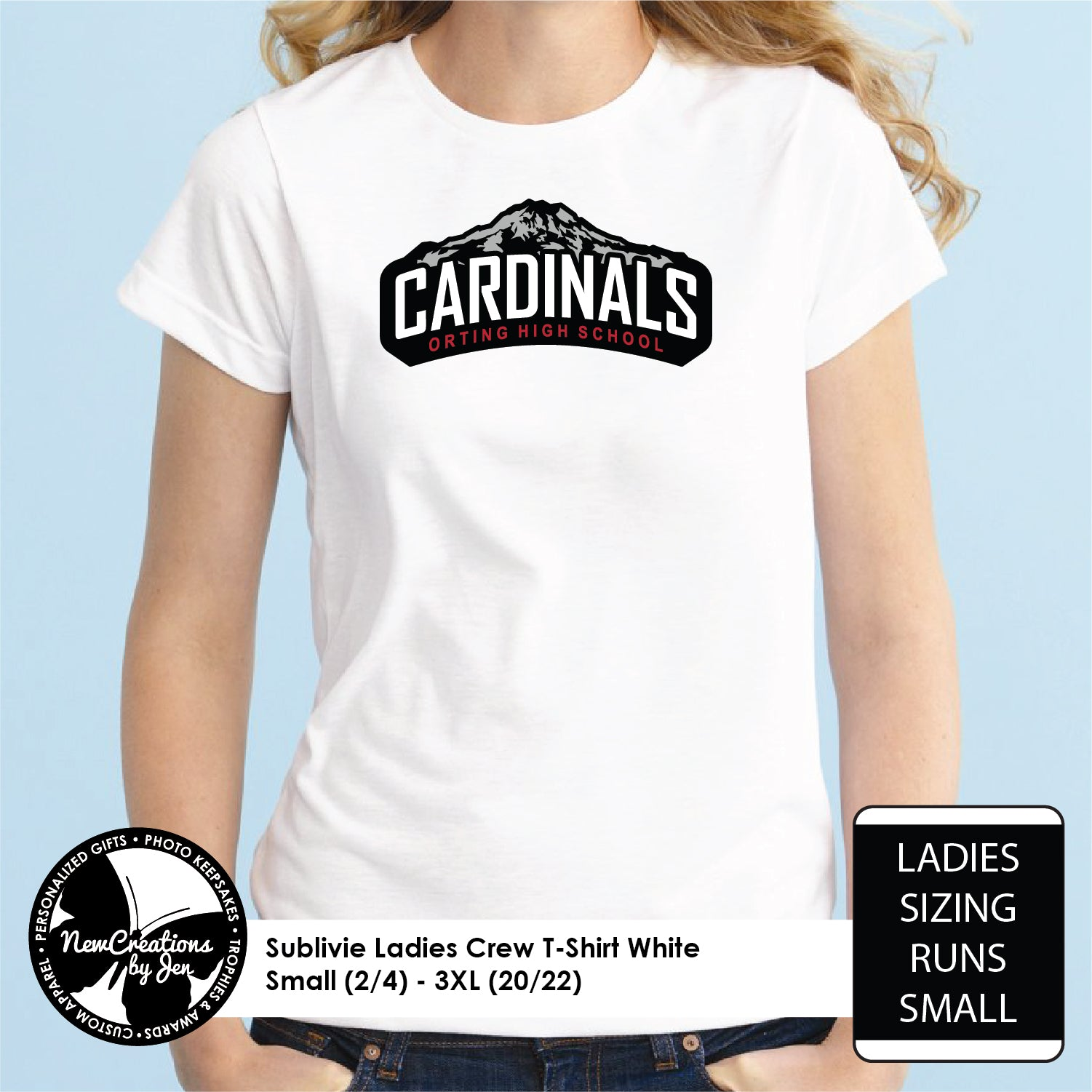 OHS Cardinals Ladies Tees