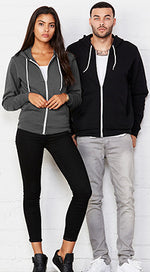 Load image into Gallery viewer, OMB Unisex Poly-Cotton Fleece Full-Zip Hoodie