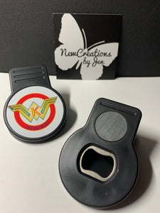 Magnetic Chip Clip with Bottle Opener