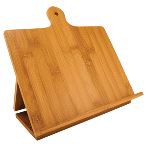 Natural Bamboo Cutting Board Easels