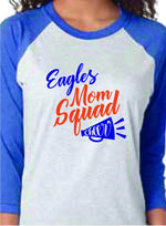Load image into Gallery viewer, Eagles Mom Squad Cheer or Football