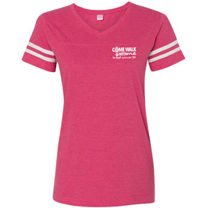 CWWM Women's Football T-Shirt