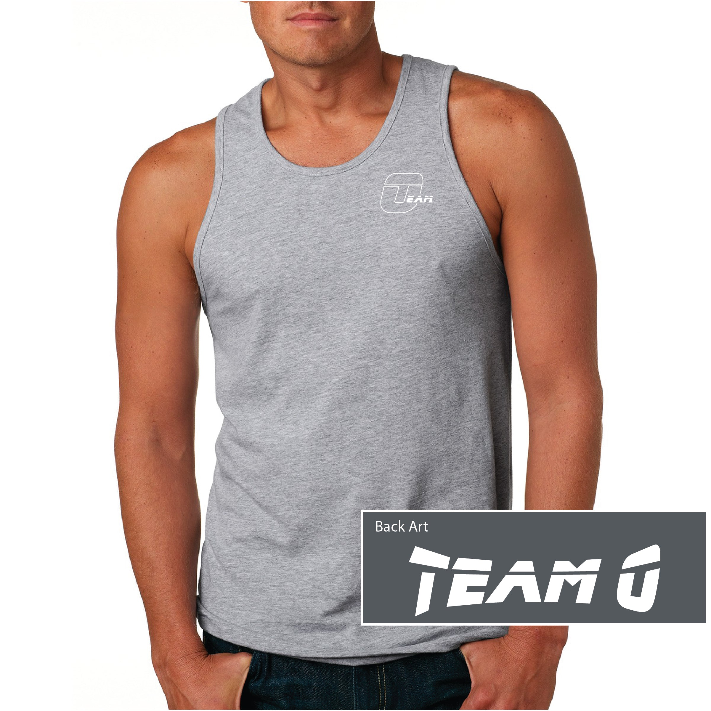Team O Next Level Men's Cotton Tank