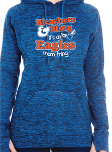 Eagles Bleachers & Bling Premium Ladies Hoodie