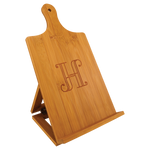 Load image into Gallery viewer, Natural Bamboo Cutting Board Easels