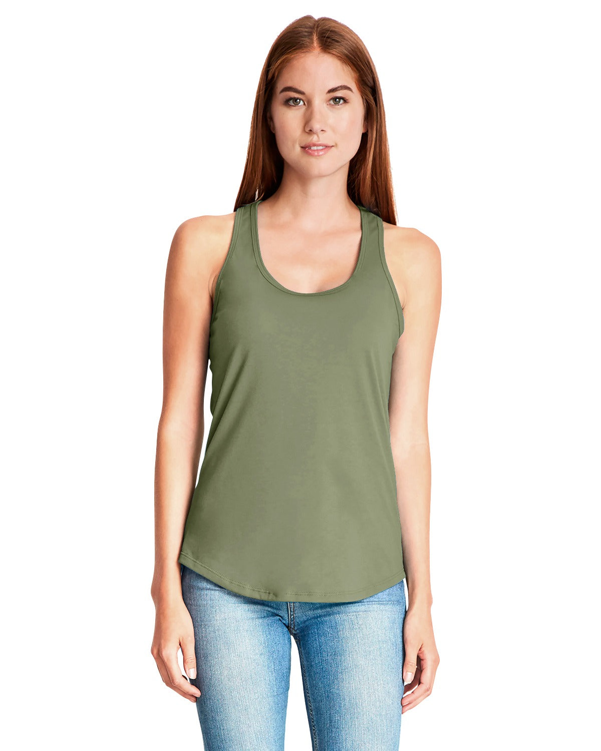 TF Next Level Ladies' Gathered Racerback Tank