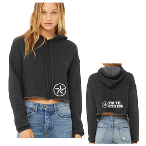 TF BellaCanvas Ladies' Cropped Fleece Hoodie
