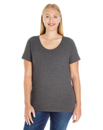 Load image into Gallery viewer, Ladies' Curvy Premium T-Shirt with Custom Artwork