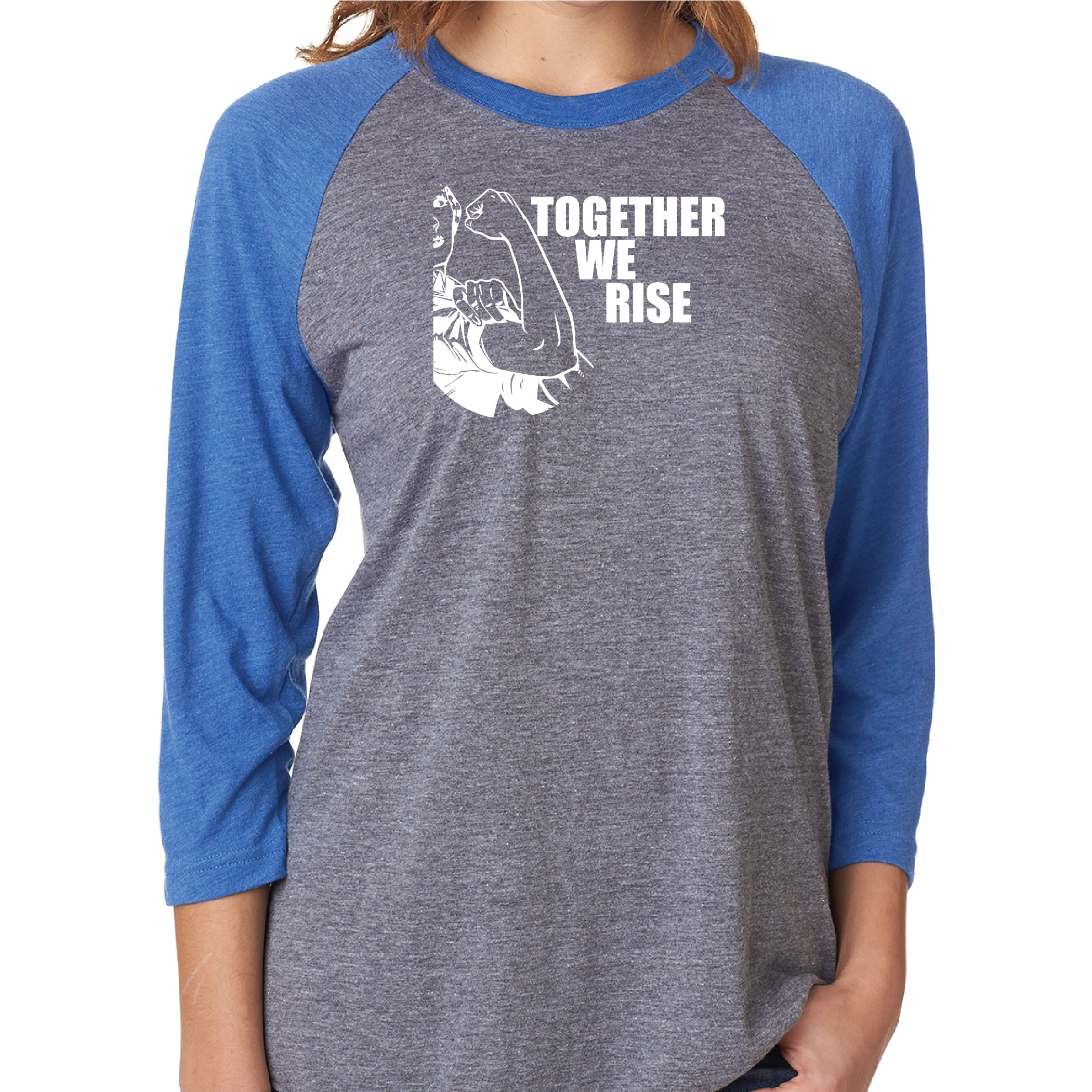 Together - Unisex Raglan Baseball T-shirt