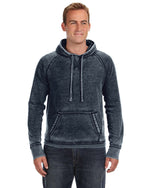 Load image into Gallery viewer, LAND OF THE LIVING Unisex Vintage Zen Fleece Pullover Hood JA8915