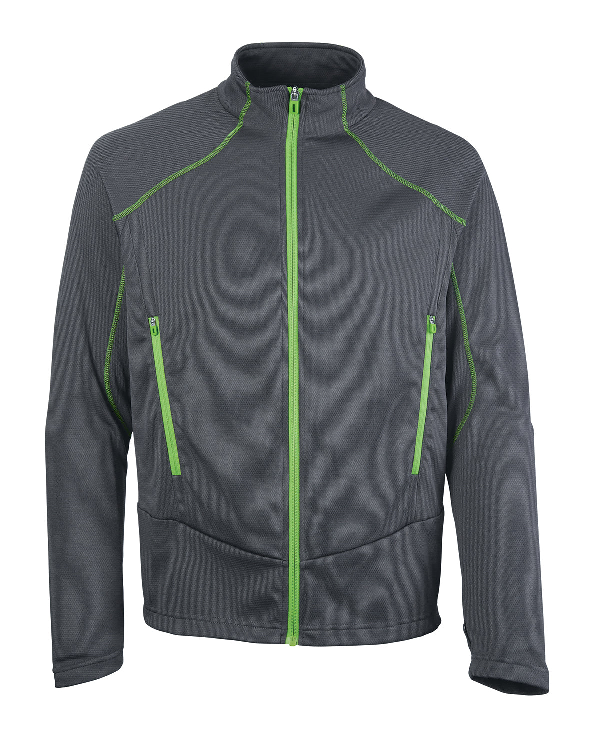 Ash City - North End Men's Cadence Interactive Two-Tone Brush Back Jacket