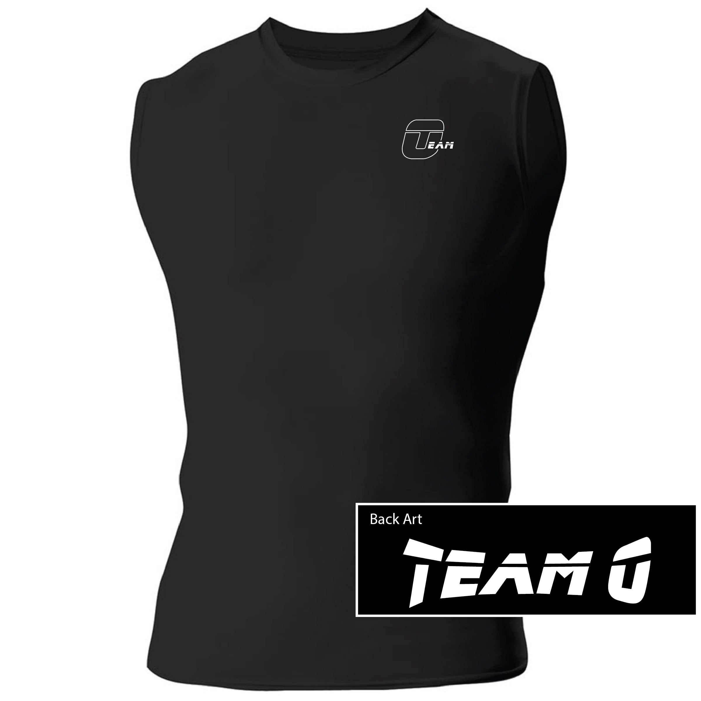 Team O A4 Men's Compression Muscle Shirt