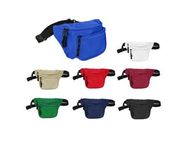 Fanny Pack with 3 Pockets