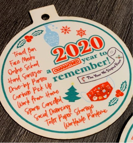 2020 - A Year to Remember ornament