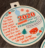 Load image into Gallery viewer, 2020 - A Year to Remember ornament